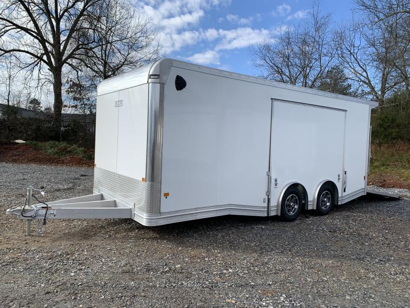 "2021 EZ Hauler 8.5x20 Aluminum Car Hauler/9990 gvwr/12"" extra height (financing)"