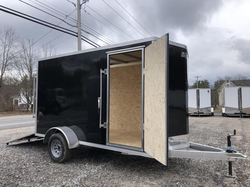"*DING SALE* 2021 EZ Hauler 6X12 +12"" V nose/ DuraLite/Full aluminum construction/6"" extra height"