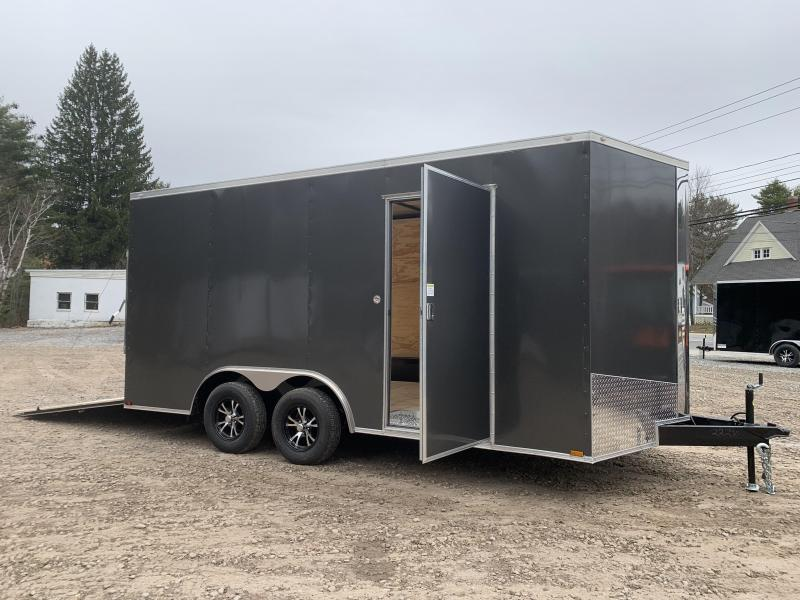 "2020 Spartan 8.5X16 +2ft V trailer/12"" extra height/undercoated"