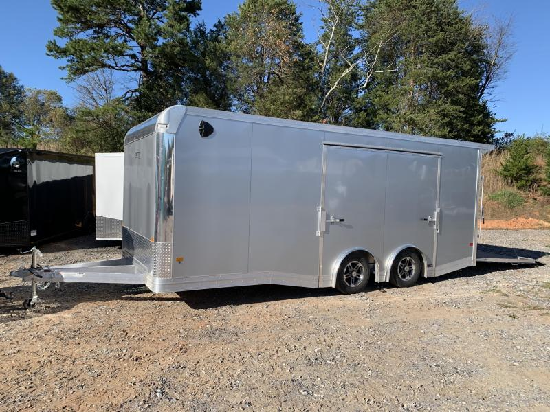"2021 EZ Hauler 8.5x20 Aluminum Car Hauler/7000gvwr/12"" extra height (financing avail.)"
