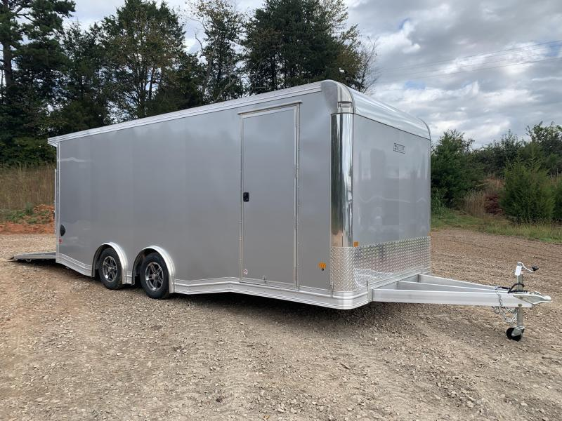 "2021 EZ Hauler 8.5x20 Aluminum Car Hauler/9990gvwr/12"" extra height (financing avail.)"
