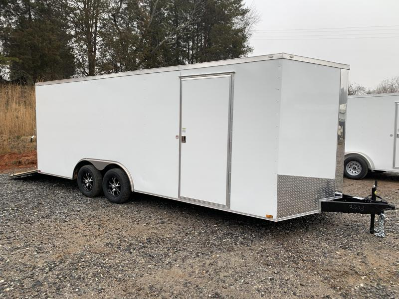 "2021 Spartan 8.5X20+2ft V trailer/6"" extra height 7000 gvwr"