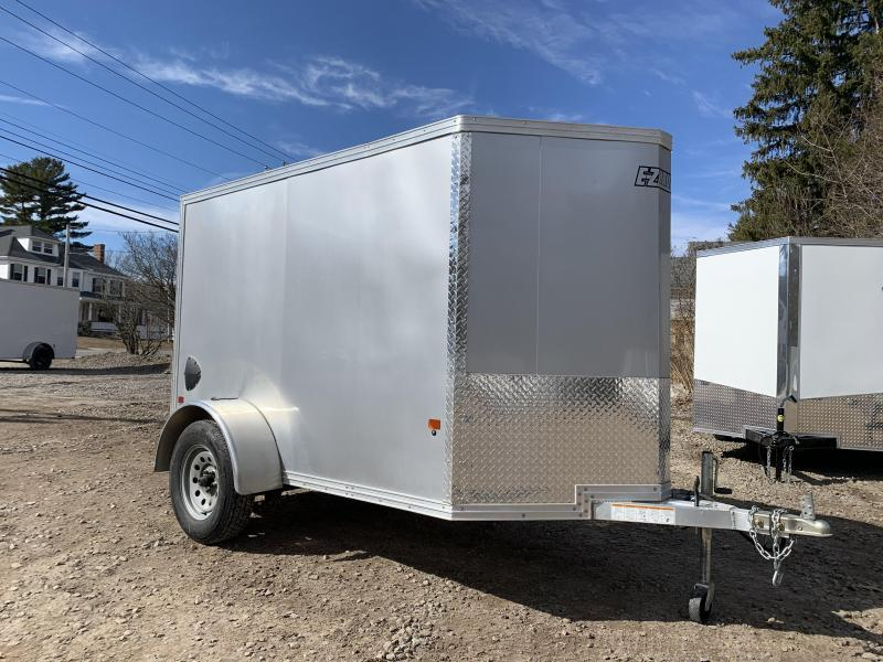 Used/Like-New* 2020 EZ Hauler 5X8 +2 ft V-Nose Aluminum trailer