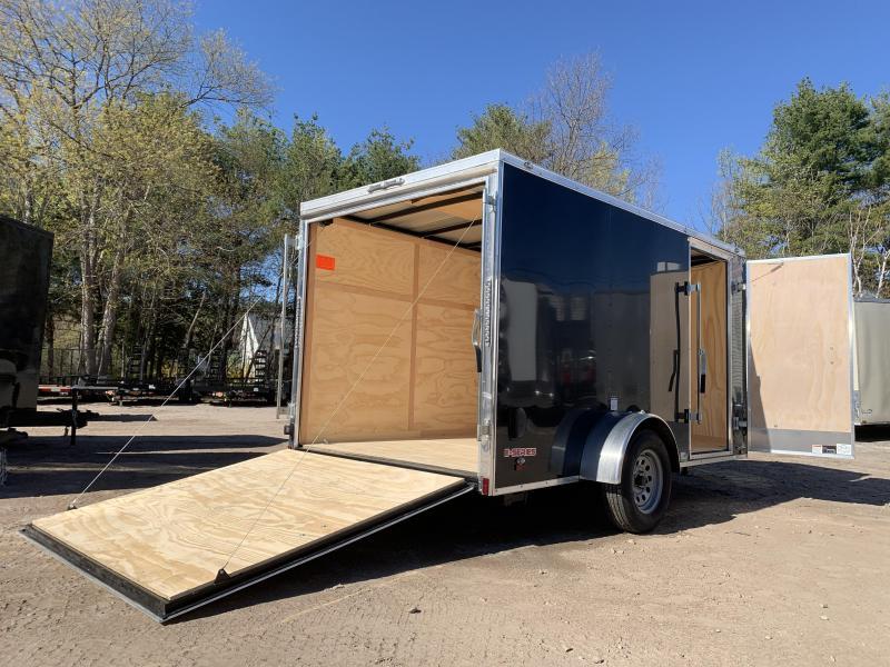 2021 Cargo Mate 6.5X12 +2ft V-nose/6' interior/Stabilizer jacks