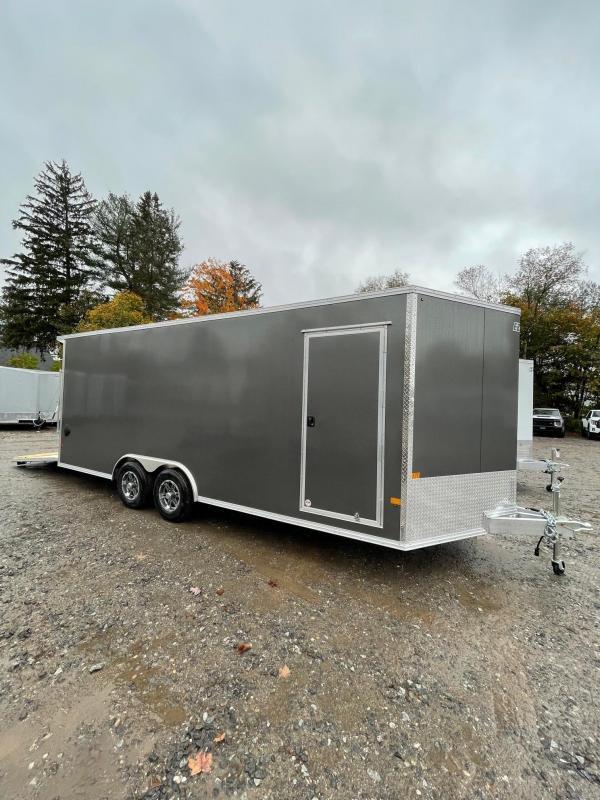 "2022 EZ Hauler 8.5x20 +3 ft V-nose/Aluminum Car Hauler/9990gvwr/12"" extra height"