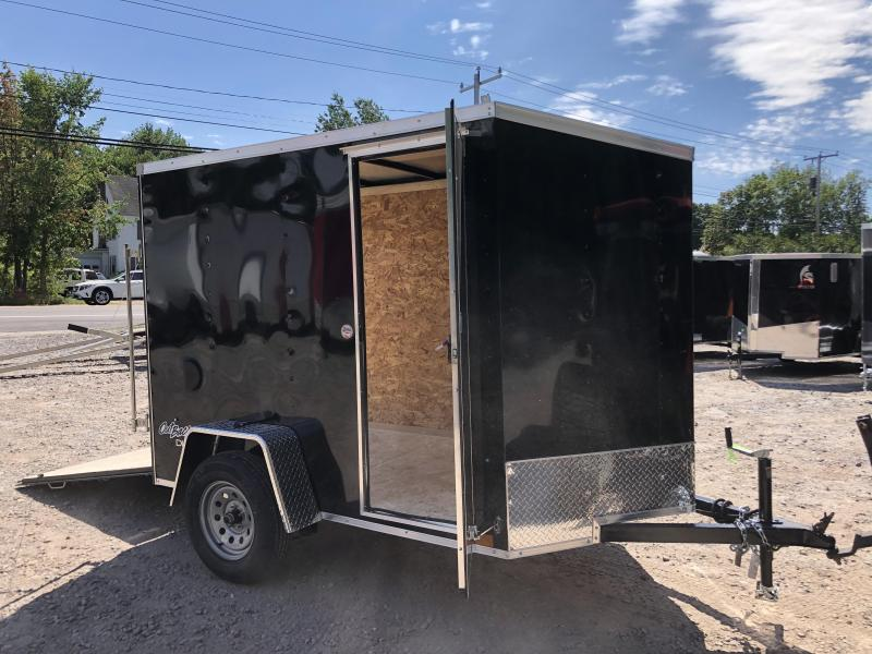 2021 Pace American 5x8 Outback DLX+2' v-nose/ /undercoated/6' height