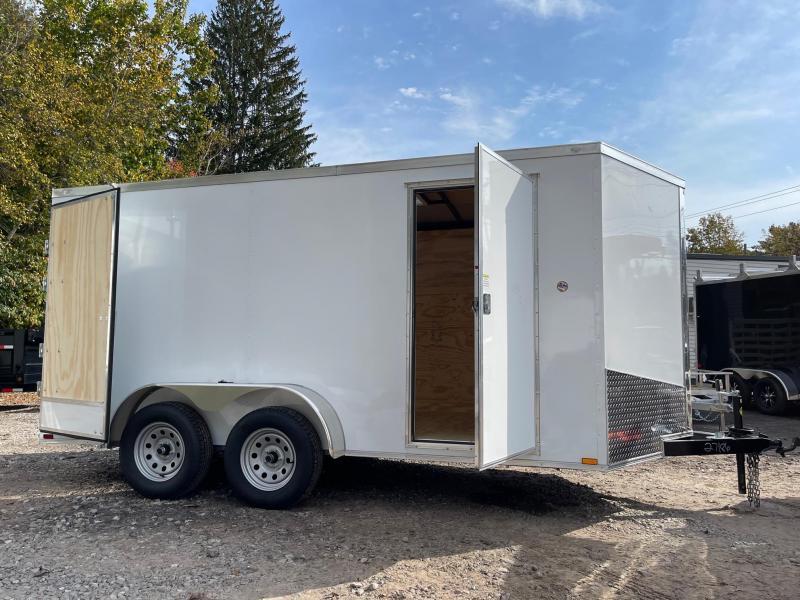 "2022 Spartan 7x14 +2ft V-nose/6"" extra height/Barn Doors"