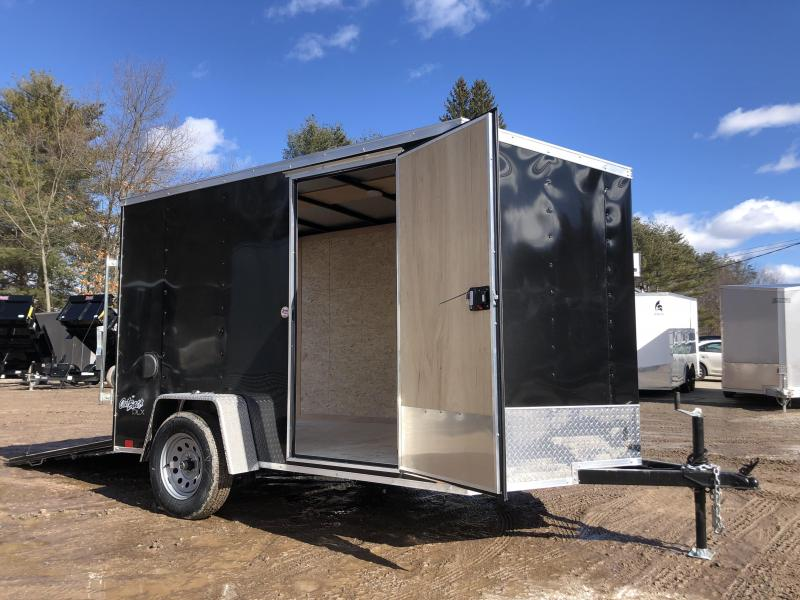 "2021 Pace American 6x10 Outback DLX+2' v-nose/ /undercoated/6"" extra height/2990gvwr"