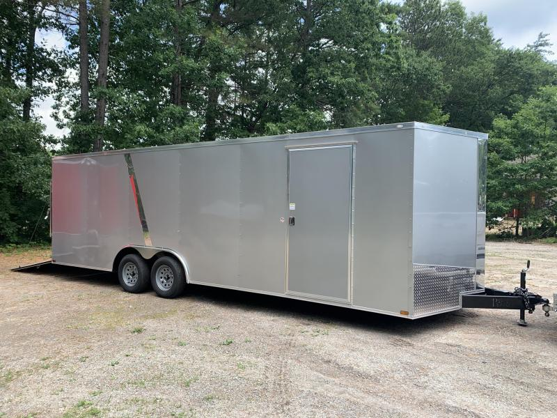 "2020 Spartan 8.5X24 +2ft V trailer/6"" extra height 7k gvwr"
