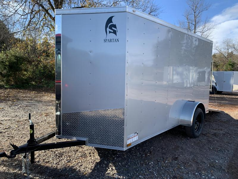 2021 Spartan 6x12 +2ft V Trailer/extra height / ramp SALE
