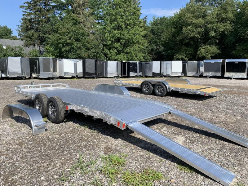 2022 Mission 7X20 Aluminum Car Hauler/9990GVW/Aluminum deck