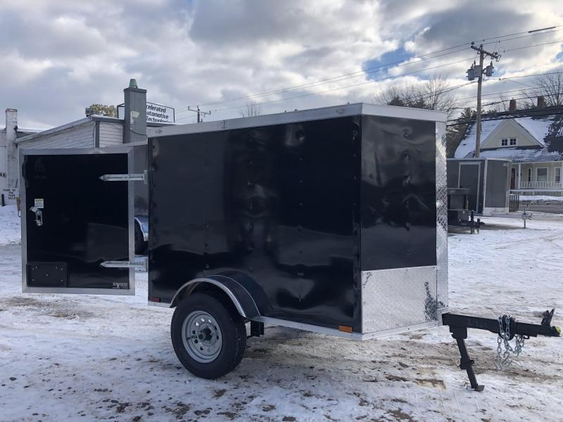 2021 Spartan 4X6 +2ft V trailer/undercoated