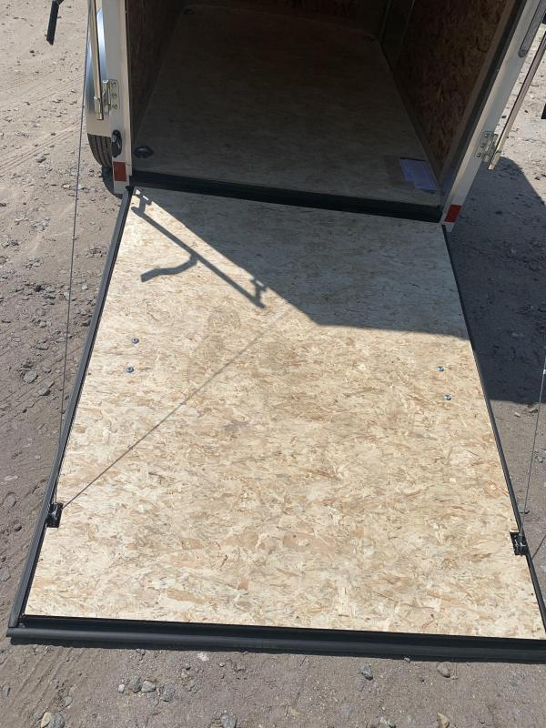 2021 Pace American 5x8 trailer /undercoated/6' height