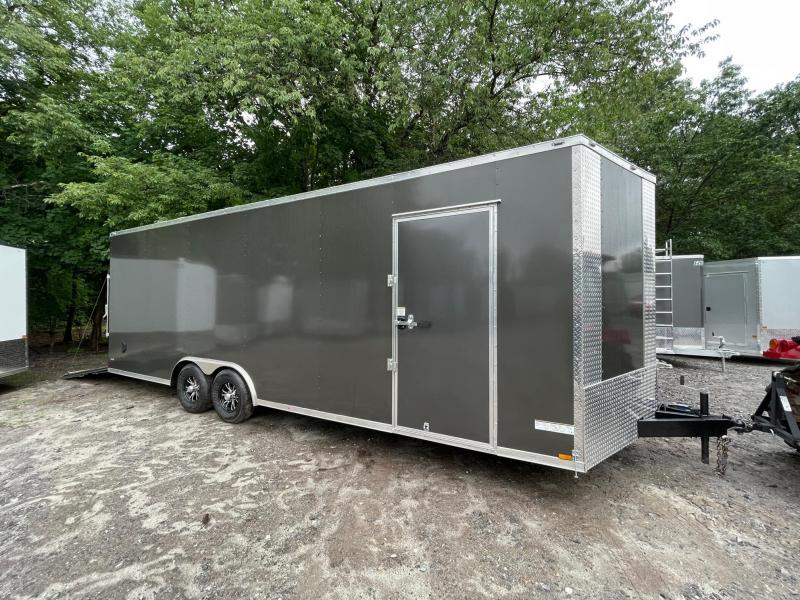 "2021 ANVIL 8.5X24+2ft V trailer/18"" extra height/9990gvwr"