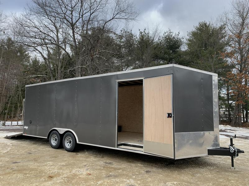 "*Scratch Sale* 2021 Pace American 8.5x24 +2' V DLX/12"" extra height/undercoated"
