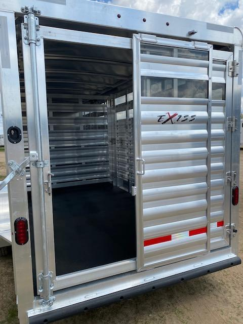 2022 Exiss Trailers EXP STC 6824 Livestock Trailer