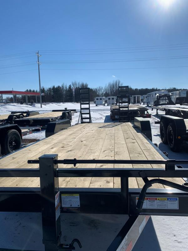 "2021 PJ 22'x6"" Channel Equipment Trailer"