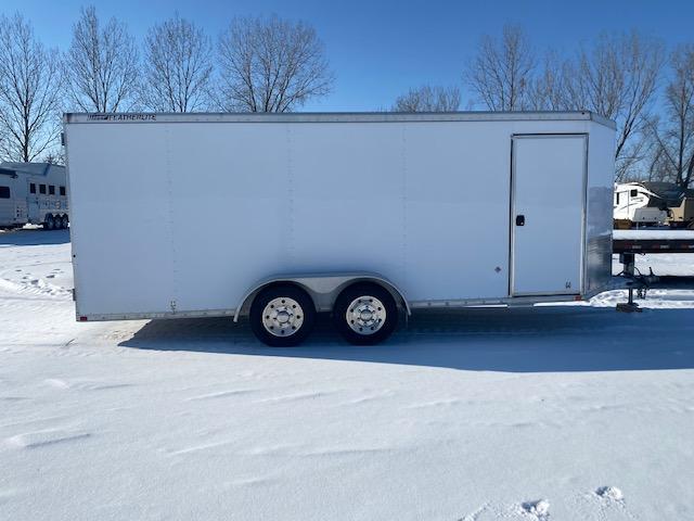 2013 Featherlite 1610 18' Enclosed Cargo Trailer