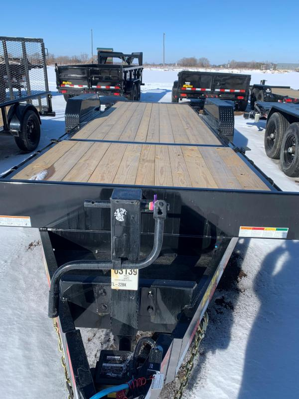 2021 Big Tex 14TL-22BK Flatbed Trailer