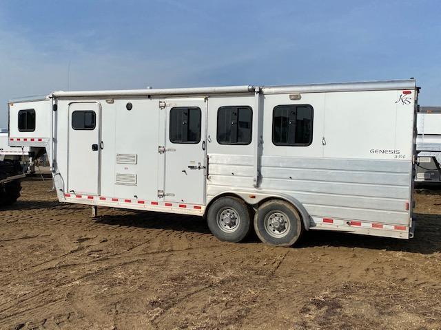 2005 Keifer Built 3H LQ Horse Trailer