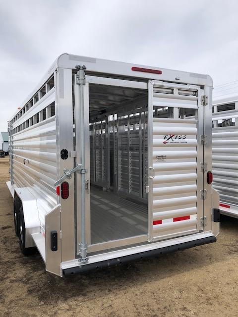 2019 Exiss Trailers 7024 Livestock Trailer