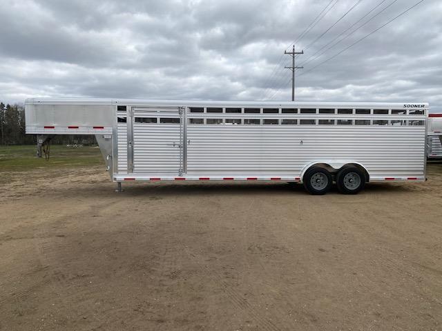 2022 Sooner 7628 Livestock Trailer