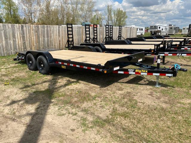 2021 Big Tex 18' w/ Mega Ramps
