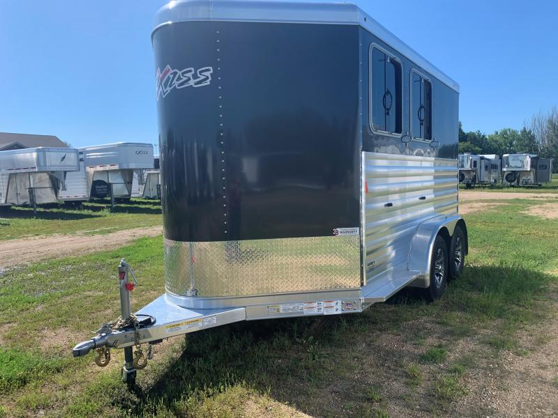 2021 Exiss Trailers 2H Express XT Horse Trailer