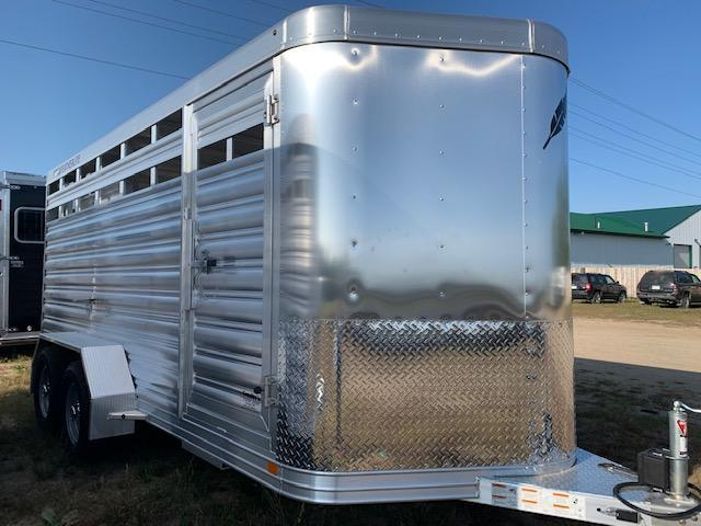 2021 Featherlite 8107-16' Livestock Trailer