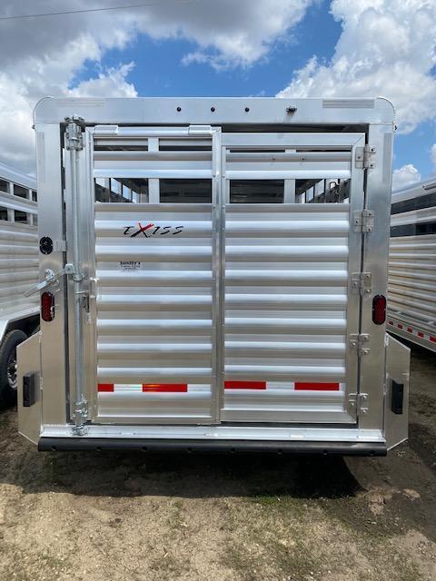 2022 Exiss Trailers STK 7020 Livestock Trailer