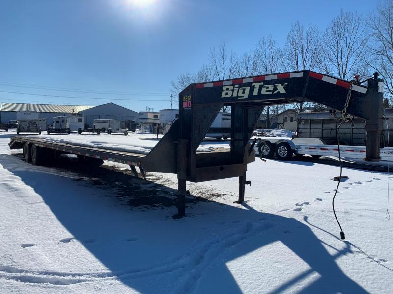 2015 Big Tex Trailers 22GN-35BK+5MR Flatbed Trailer