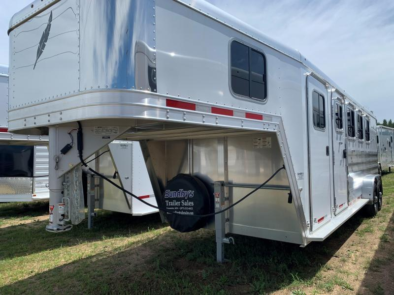 2019 Featherlite 8541-704H Horse Trailer