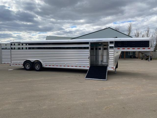 2022 Elite Trailers STOCK Livestock Trailer