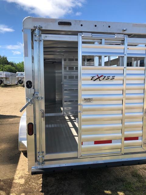 2022 Exiss Trailers 616BP Livestock Trailer
