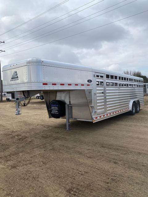 2021 Elite 8 X 24' Livestock Trailer