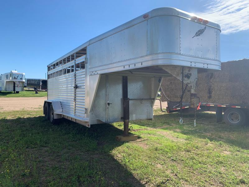 1993 Featherlite 16' Livestock Trailer