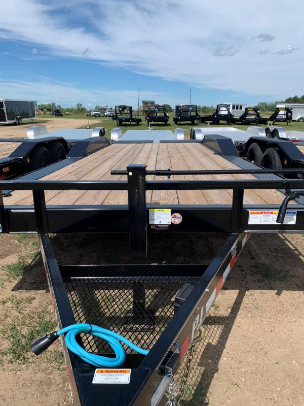 2021 PJ Trailers 22' Flatbed