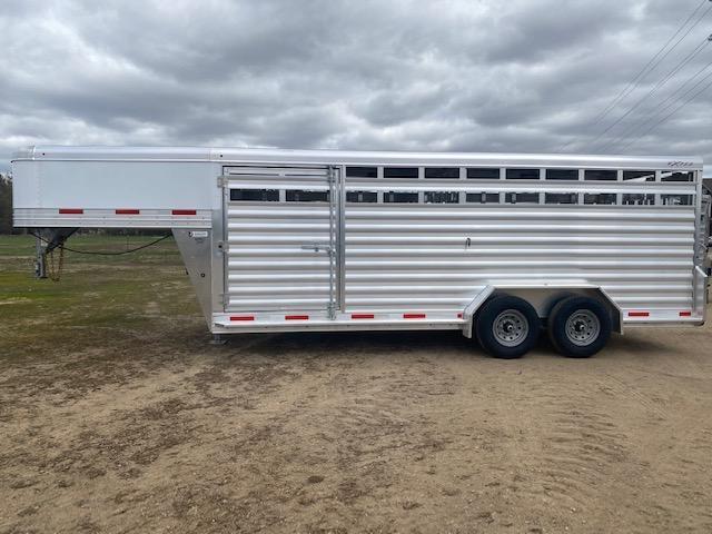 2022 Exiss STK 7020 Livestock Trailer