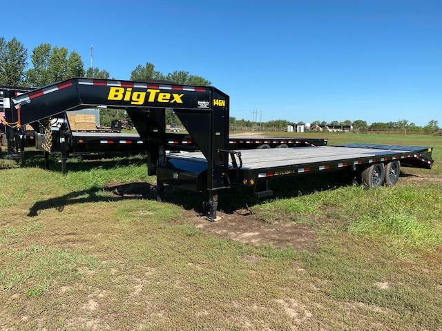 2019 Big Tex Trailers 14GN-20BK+5MR Flatbed Trailer