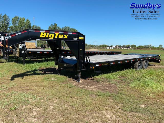 2019 Big Tex Trailers 14GN-20BK+5MR Flatbed Trailer