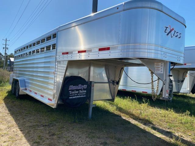 2019 Exiss 7020 Livestock Trailer