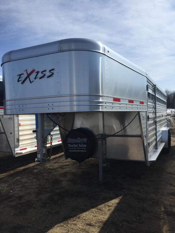 2019 Exiss Trailers 7020 Livestock Trailer