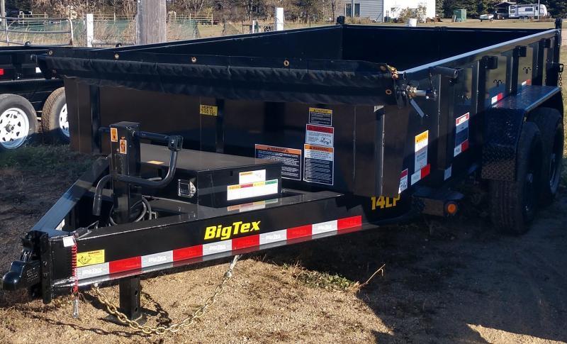 2020 Big Tex 7 X 14'  Dump Trailer