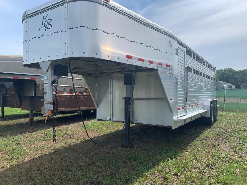2002 Kiefer Manufacturing Kiefer Livestock Trailer