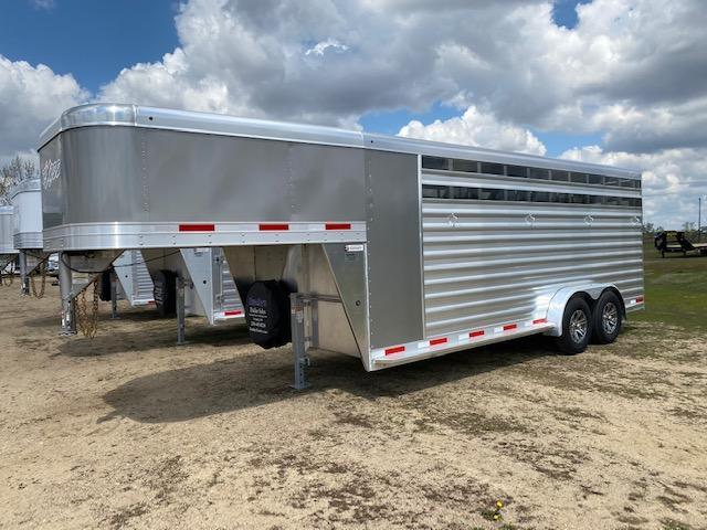 2022 Exiss Trailers EXPRESS 4H CX Livestock Trailer