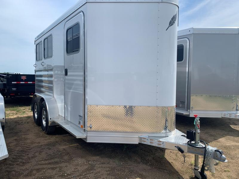 2020 Featherlite 7441- 2H Horse Trailer