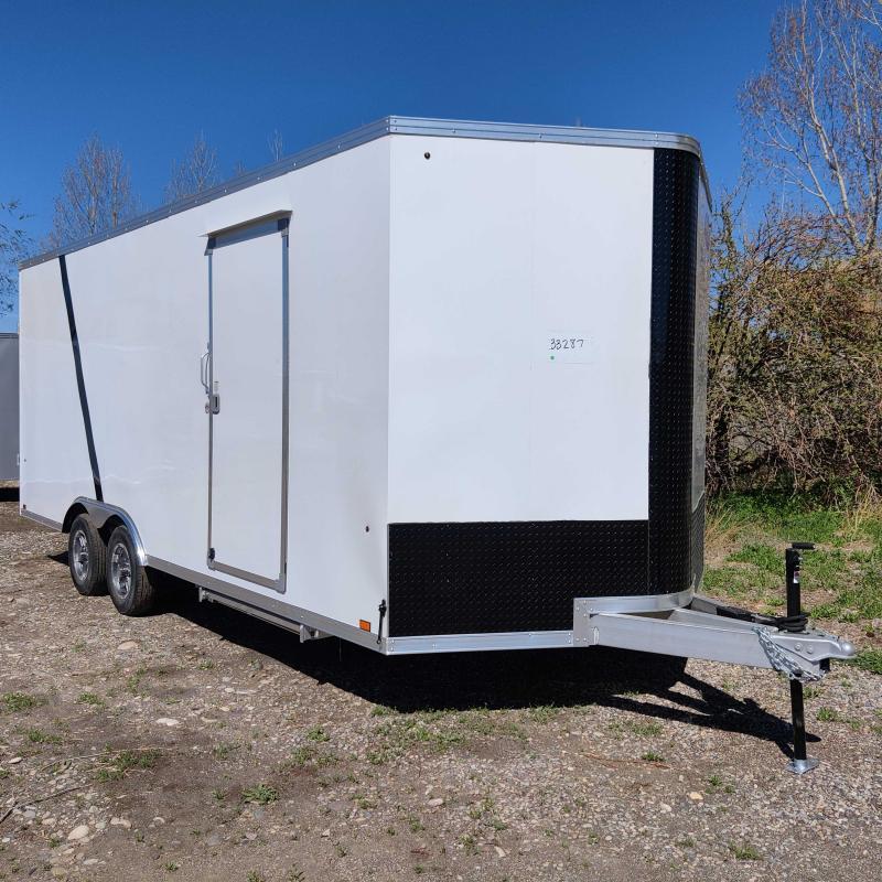 2021 EverLite Inc. EAAFA8.5x20TE2FG Enclosed Cargo Trailer