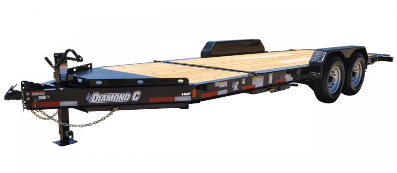 2021 Diamond C Trailers HDT 207 20X82 Equipment Trailer
