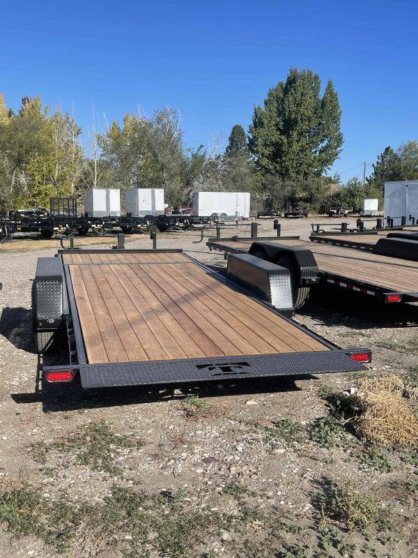 2021 Teton Trailers 14K 20' 3/4 Tilt Equipment Trailer