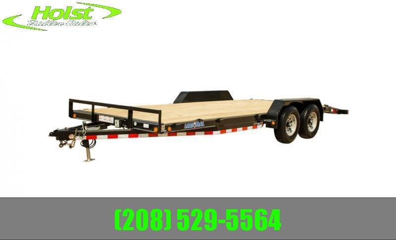 2022 Load Trail XH10 Carhauler 83 x 18 Equipment Trailer